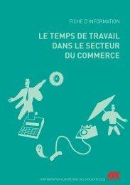 le temps de travail dans le secteur du commerce - ETUC