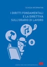 i diritti fondamentali e la direttiva sull'orario di lavoro - ETUC