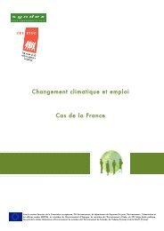 Changement climatique et emploi Cas de la France - ETUC