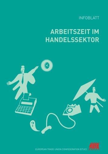 ARBEITSZEIT IM HANDELSSEKTOR - ETUC