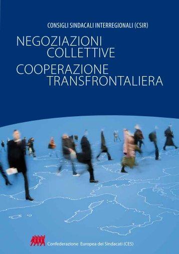 NEGOZiAZiONi COLLETTiVE COOPERAZiONE ... - ETUC