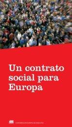 Un contrato social para Europa - UGT