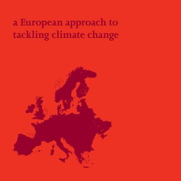 A European approach to tackling climate change (kb135) - ETUC