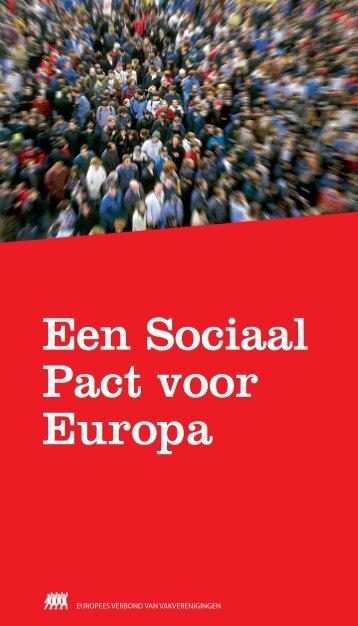 Een Sociaal Pact voor Europa - ETUC