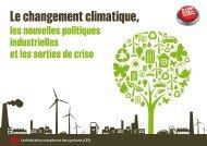 Le changement climatique, les nouvelles politiques ... - Syndex