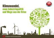 Klimawandel, neue Industriepolitik und die Auswege aus ... - Einblick