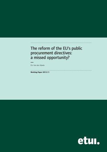Full text - European Trade Union Institute (ETUI)