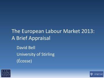 presentation D. Bell - European Trade Union Institute (ETUI)