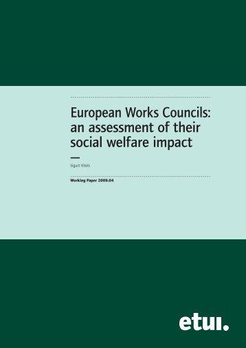 To download the full text - European Trade Union Institute (ETUI)