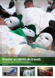 Dossier accidents du travail: analyse des chiffres belges