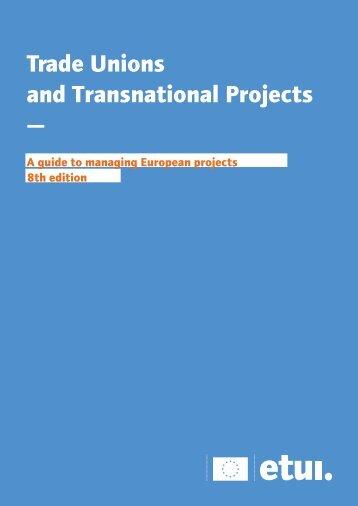 8th edition english version 2012 - European Trade Union Institute ...