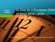 Its time for a European OSH strategy - European Trade Union ...