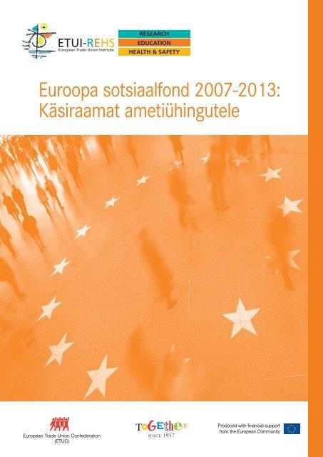 Brochure ESF EST.qxd:Brochure ESF 2007 - European Trade Union ...