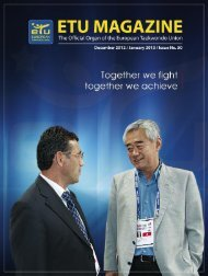 The ETU A - European Taekwondo Union