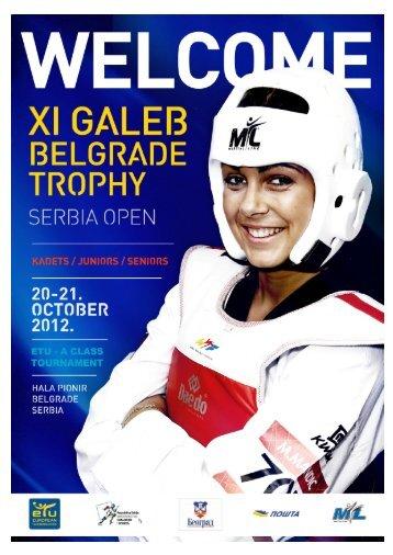11th Galeb Belgrade Trophy Serbian Open