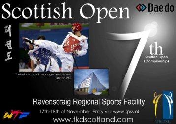 7th Scottish Open Championships - European Taekwondo Union