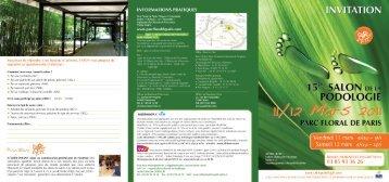INFORMATIONS PRATIQU ES - Laboratoires Asepta