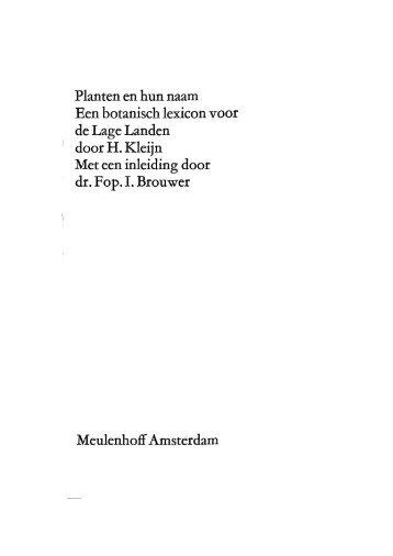 pdf van inleiding - Etymologiebank