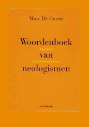 Woordenboek van neologismen - Etymologiebank