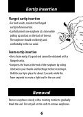 ER-6 ER-6i Isolator Earphones User Manual - Etymotic Research - Page 6