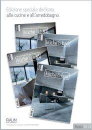 Edizione speciale dedicata alle cucine e all ... - Etzel Verlag