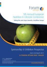 5th Annual European Nutrition & Lifestyle Conference - Eu-ems.com