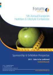 download the sponsorship prospectus here - Forum Europe EMS