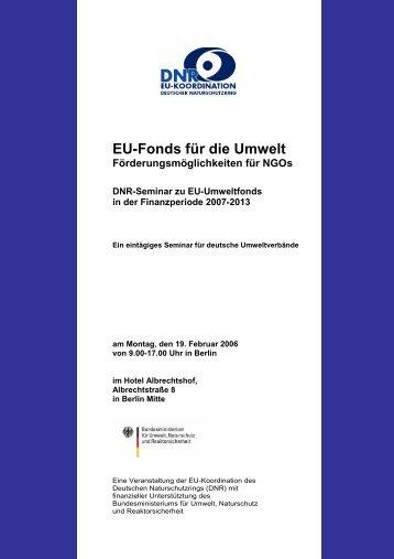 EinladungFondsworkshop II für den 19 2 - EU-Koordination