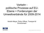 Vortrag Kerstin Meyer - EU-Koordination