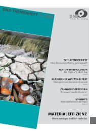 Materialeffizienz (2009) - EU-Koordination