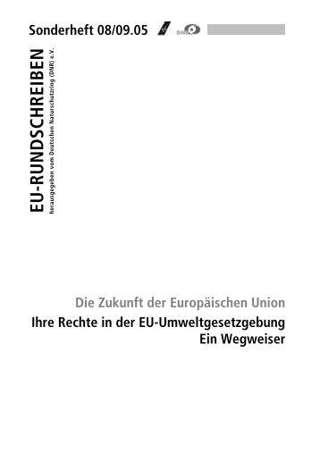 EU-Umweltgesetzgebung - EU-Koordination