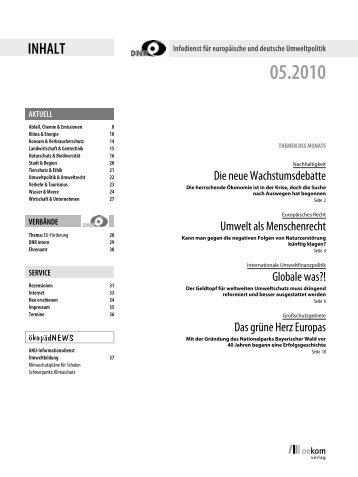 Mai 2010 - EU-Koordination