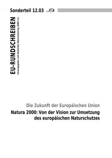 Natura 2000 - EU-Koordination
