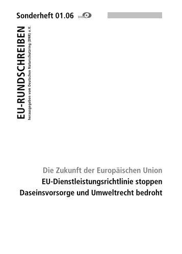 EU-Dienstleistungsrichtlinie stoppen - EU-Koordination
