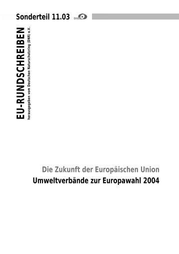 Europawahl 2004 - EU-Koordination