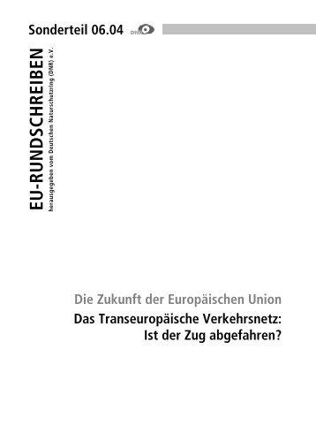 Das Transeuropäische Verkehrsnetz - EU-Koordination