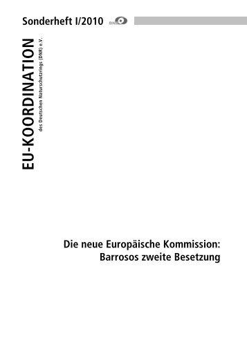 Die neue Europäische Kommission - EU-Koordination