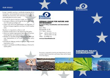 EUROPEAN POLICY COORDINATION - EU-Koordination