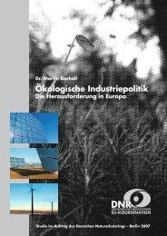 Studie Ökologische Industriepolitik (2007) - EU-Koordination