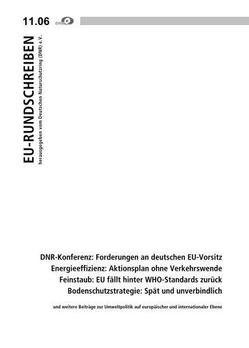 11.06 - EU-Koordination