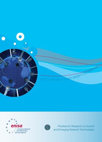 Priorities for Research on Current and Emerging ... - enisa - Europa