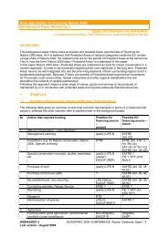 New approaches to financing Natura 2000 Background Paper ...