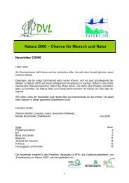 Newsletter 2-2006 - EU-Förderung des Naturschutzes 2007 bis 2013