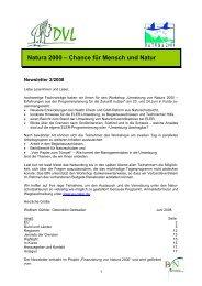 Natura 2000 – Chance für Mensch und Natur - EU-Förderung des ...