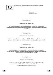 DE - EU-Förderung des Naturschutzes 2007 bis 2013