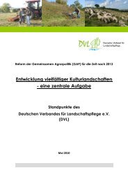 Entwicklung vielfältiger Kulturlandschaften - EU-Förderung des ...