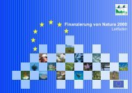 Finanzierung von Natura 2000 - EU-Förderung des Naturschutzes ...