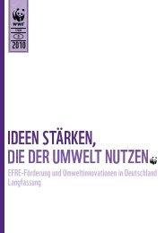 EFRE-Förderung und Umweltinnovationen in Deutschland ...