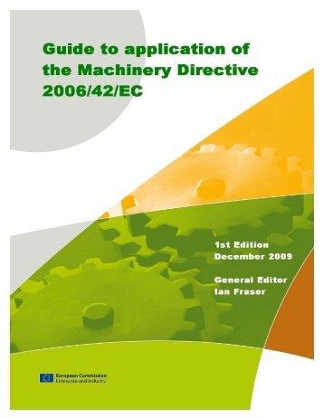 european machinery directive 2006 42 ec pdf