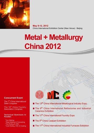 Metal + Metallurgy China 2012 - eu-nited